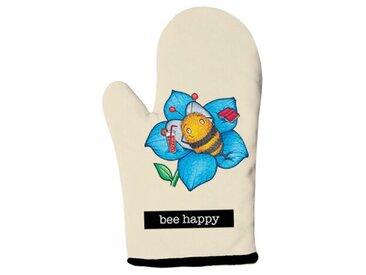 Doppelte Ofenhandschuhe Bee Happy