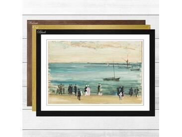 Gerahmtes Poster Southend Pier von James Abbott McNeill Whistler