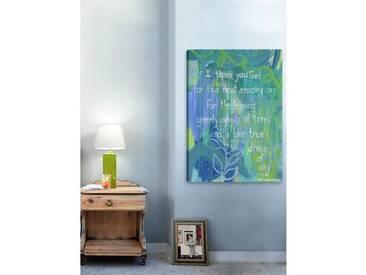 Leinwandbild Blue True Dream von Jill Lambert