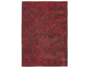 Teppich Fading World in Grau und Rot