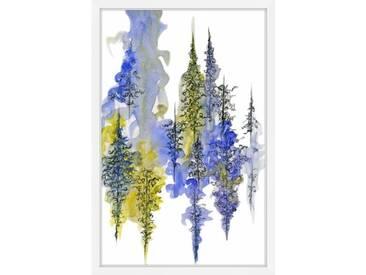 Gerahmtes Papierbild Mystical Forest von Emily Magone