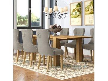 Essgruppe Murcia mit ausziehbarem Tisch und 6 Stühlen