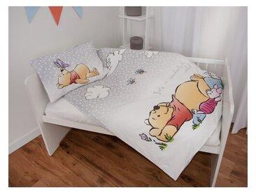Flanell-Kinderbettwäsche Winnie the Pooh