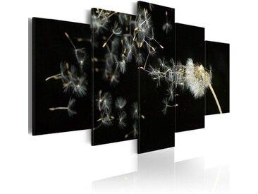 5-tlg. Leinwandbilder-Set Momente so vergänglich wie Pusteblumen