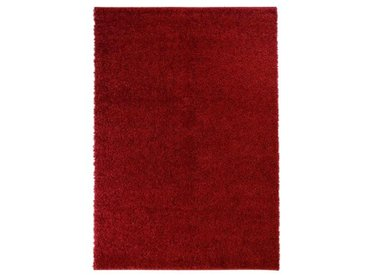 Bushnell Shaggy-Teppich in Rot