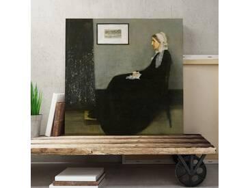 """Leinwandbild """"Mother von James Abbott McNeill Whistler, Kunstdruck"""
