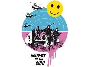 Gerahmte, grafische Kunst Holidays in the Sun von Anthony Peters