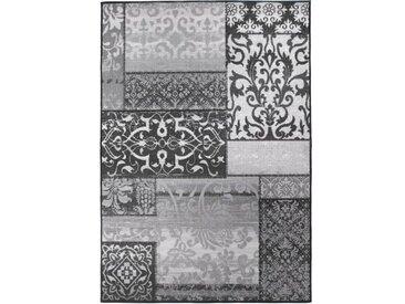 Flachgewebe-Teppich Vintage in Grau