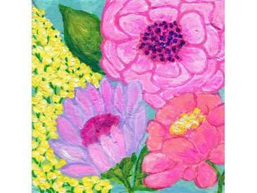 Leinwandbild Four Spring Flower von Jill Lambert