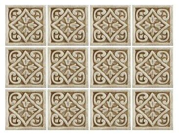 15 cm x 15 cm Selbstklebendes Mosaikfliesen-Set Lovisa aus PVC