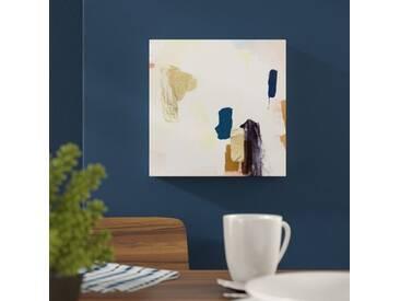 "Leinwandbild ""Azul Marron von Artana, Grafikdruck"