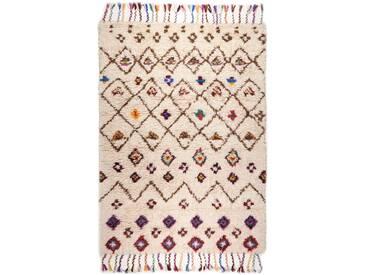 Handgefertigter Teppich Anker aus Wolle