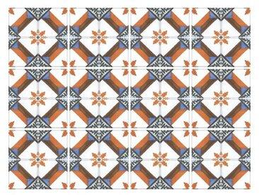 15 cm x 15 cm Selbstklebendes Mosaikfliesen-Set Liv aus PVC