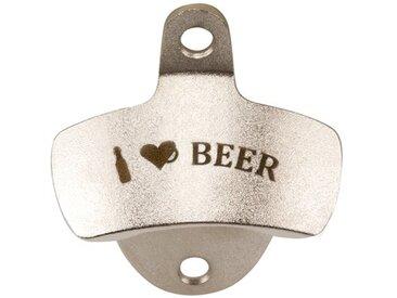 """Wand-Flaschenöffner """"I love beer"""""""