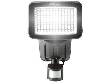 Solarbetriebener LED-Außenstrahler
