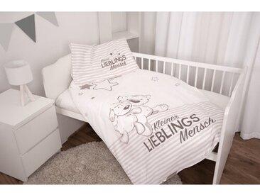 Flanell-Kinderbettwäsche Lieblingsmensch