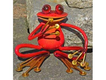 Gartenfigur Hockender Frosch