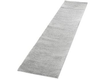 Hochflor-Teppich in Grau