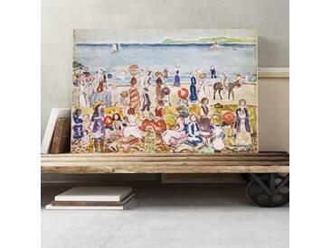 """Leinwandbild """"Revere Beach 2 Kunstdruck von Maurice Prendergast"""