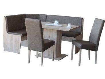 Eckbankgruppe Lilah mit 2 Stühlen und einer Bank