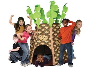 Monkey Palmz Hut Play Tent