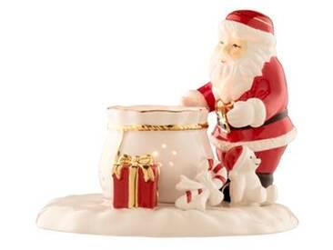 Dekorationsfigur Santa mit Geschenkesack
