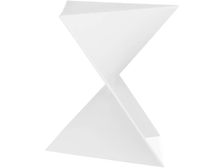 43 cm Barhocker Kina Weiß