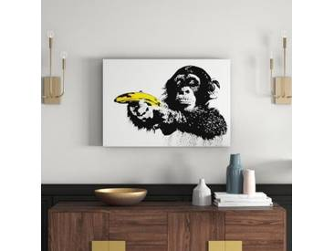 Deco Panel Monkey banana, Grafikdruck