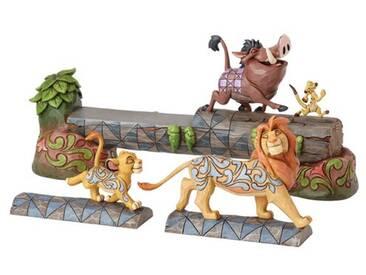 Figur Carefree Camaraderie Simba, Timon and Pumbaa