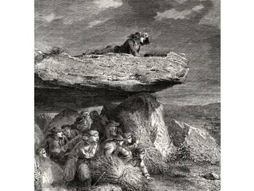 Gerahmter Kunstdruck Chouannerie, from Histoire de la Revolution Francaise von Louis Blanc