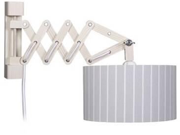 Schwenkarm 1-flammig Schere Stripes