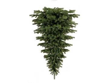 Upside Down 6ft Green Artificial Christmas Tree