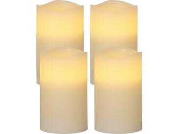 4-tlg. LED-Kerze Set May