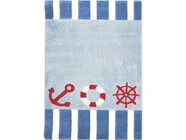 Teppich  Auf Hoher See in Blau