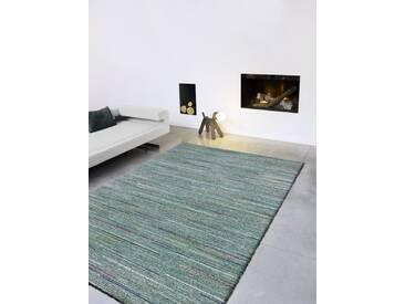 Teppich Berber in Blaugrün