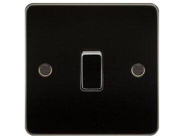Wandmontierter Lichtschalter