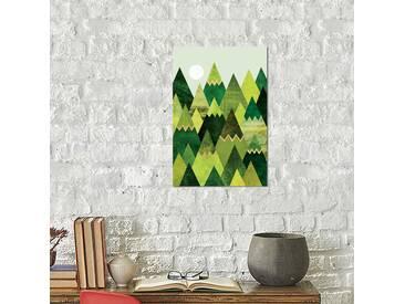 Leinwandbild Forest Mountains von Elisabeth Fredriksson