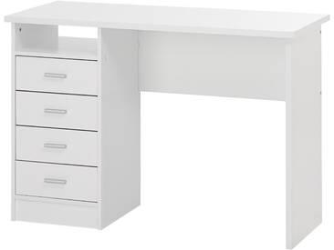Schreibtisch Function Plus mit 4 Schubladen