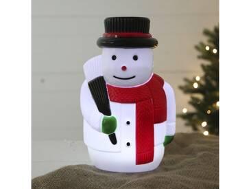 Beleuchtete Dekoration Snowman on Stick