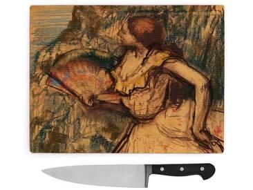 Schneidebrett Edgar Degas Dancer with a Fan