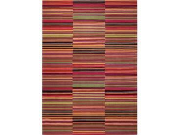 Handgetufter Teppich Colorpop in Rot