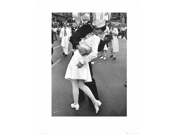 Kunstdruck Time Life - War Time Kiss