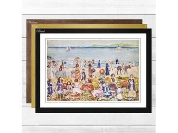 Gerahmter Kunstdruck Revere Beach 2 von Maurice Pendergrast