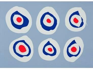 """Gerahmtes Poster """"Revolver, 1998"""" von Colin Booth, Grafikdruck"""