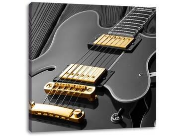 LeinwandbildElegante E-Gitarre