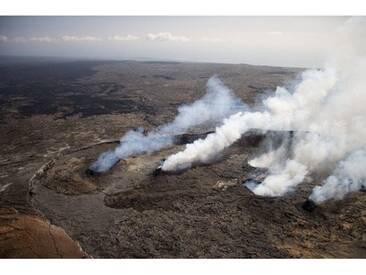 Gerahmter Fotodruck Hawaii Volcanoes National Park