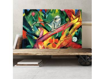 Monkey by Franz Marc Painting Print on Canvas