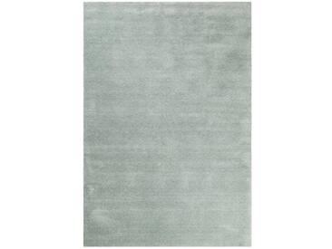 Handgefertigter Teppich Loft in Hellgrün