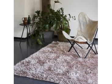 Handgetufteter Teppich Cool Glamour in Grau