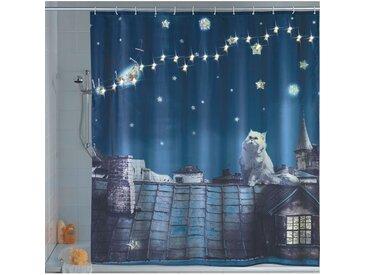 Duschvorhang Moon Cat